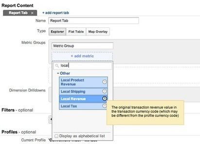 Multi-Currency E-Commerce Support In Google Analytics - Analytics Blog   Lectures web   Scoop.it
