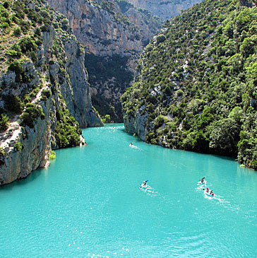 France: The Verdon Gorge | Wicked! | Scoop.it