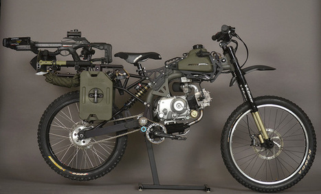 Outpace the Apocalypse with this Motoped Survival Bike - Boldride.com | Vous avez dit Innovation ? | Scoop.it