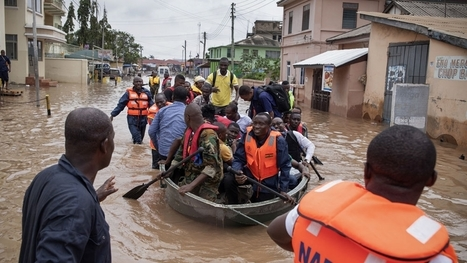 Floods leave many dead in southern Ghana | Regional Geography | Scoop.it