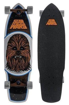 0ad9d4c837b Santa Cruz Skateboards Star Wars Chewbacca Cruzer 10 x 35-Inch Skateboard