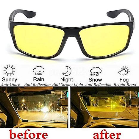 34cad29ca4 Online Biggest Shopping Store in Nepal - Night Vision Full Eye Covering  Glasses   Free size