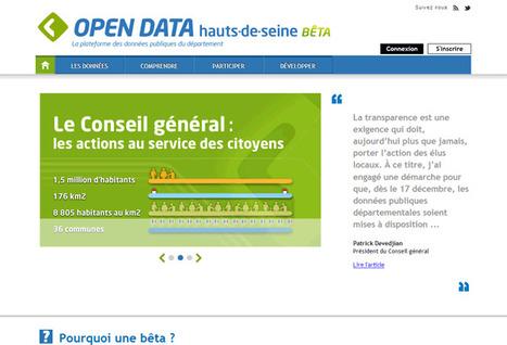 OpenData Hauts-de-Seine | Ardesi - Collectivité et Internet | Scoop.it