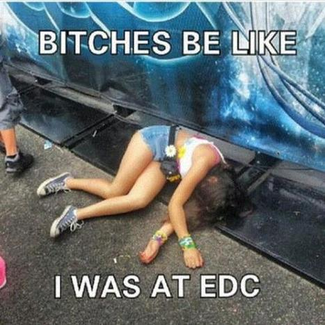Twitter / EDMLounge: Don't be this girl. #EDM ... | Electronic Dance Music (EDM) | Scoop.it
