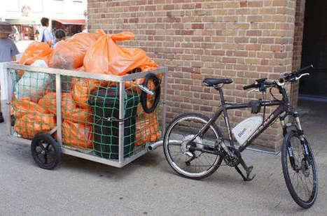 Collecter les poubelles publiques en vélo électrique | Gestion des services aux usagers | Scoop.it