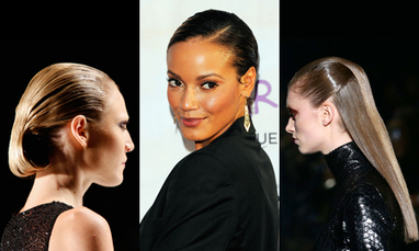 Sleek and Sexy Wet Looking Hairstyles | kapsel trends | Scoop.it