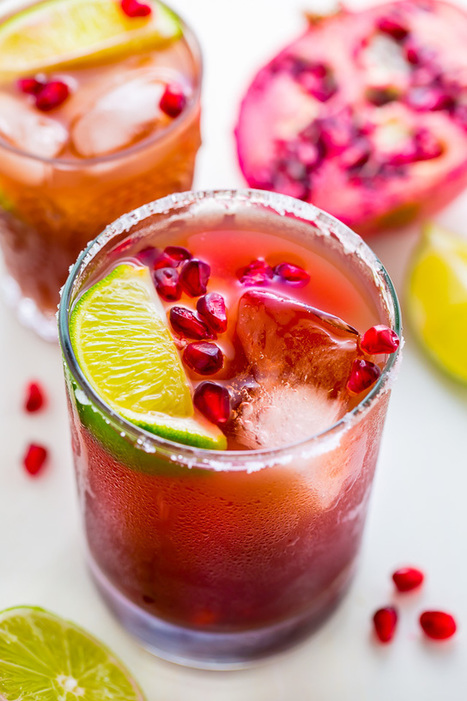 Easy Pomegranate Margaritas - Baker by Nature | Passion for Cooking | Scoop.it