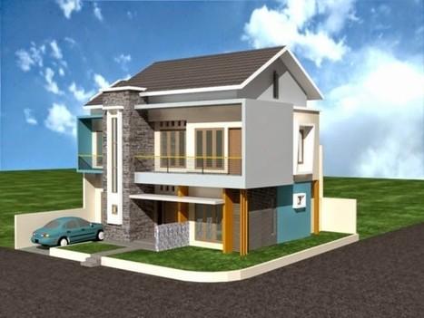Rumah Minimalis 2 Lantai Type 36 Pojok Yang Nya