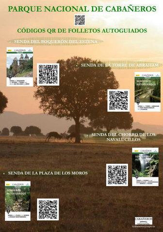 Códigos QR para recorrer el Parque Nacional de Cabañeros | VIM | Scoop.it