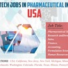 HealthCare Jobs, Pharmaceutical Jobs, Clinical Trial Jobs in USA