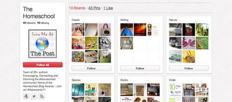 48 Great Ways Homeschoolers are Using Pinterest   Online College Tips – Online Colleges   Homeschooling 365   Scoop.it