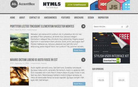 39 Best WordPress Themes for Download   Webdesign Freebies   Scoop.it