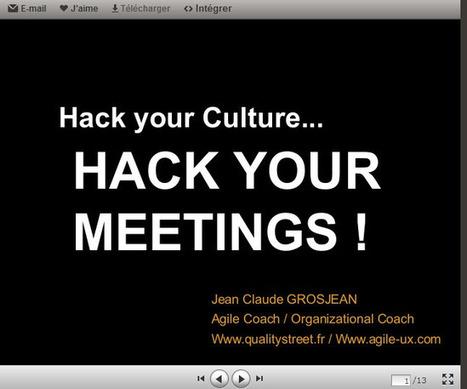 Hack your Meeting : 8 Hacks! | Open Source Thinking | Scoop.it