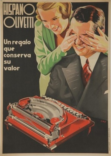 Hispano Olivetti | Antiques Collectibles and Auction News | Antiques & Vintage Collectibles | Scoop.it