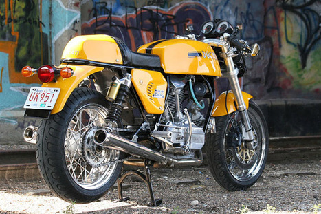 DejaView | BikeEXIF | Rene Waters Ducati 900 GTS custom | Ductalk Ducati News | Scoop.it