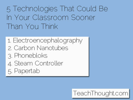 5 Technologies That Will Be In Your Classroom Sooner Than You Think - | 21st Century Teaching and Learning | Scoop.it