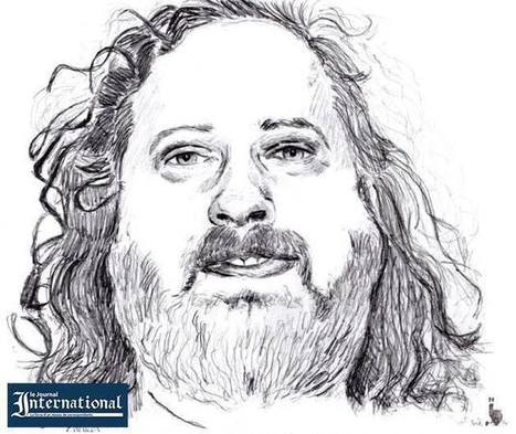 Stallman, gourou du logiciel libre | Logiciels libres,Open Data,open-source,creative common,données publiques,domaine public,biens communs,mégadonnées | Scoop.it