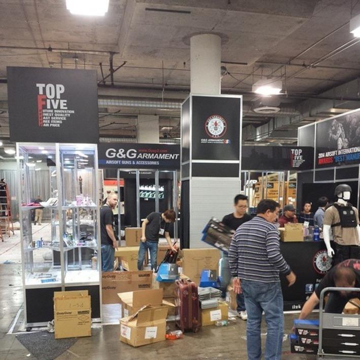 SHOT Show 2015 Setup! - G&G Armament on Instagram   Thumpy's 3D Airsoft & MilSim EVENTS NEWS ™   Scoop.it