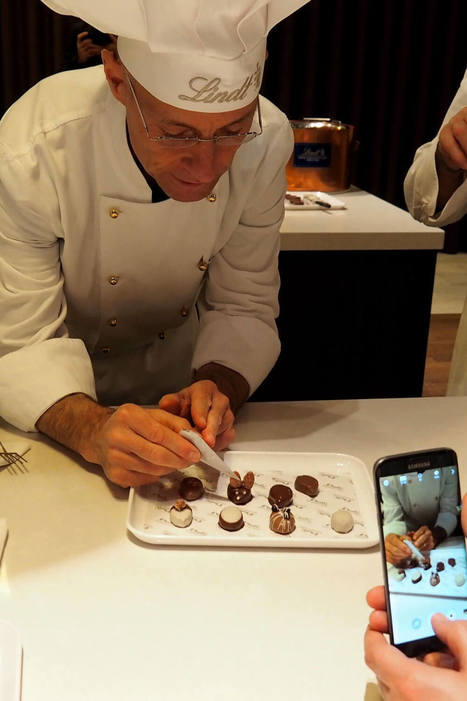 The Lindt Chocolate Workshop in Zürich is 100% chocolate bliss | Switzerland | Scoop.it