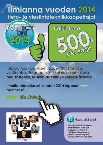 Vuoden tieto- ja viestintätekniikkaopettaja | IT-kouluttajat ry | Tablet opetuksessa | Scoop.it