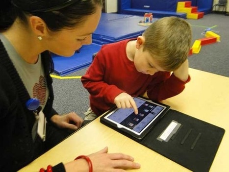 Therapists find iPads can help develop verbal skills - Quincy Herald Whig | Speech and Language Pathology | Scoop.it