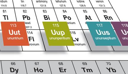 Cuatro nuevos elementos químicos | El rincón de mferna | Scoop.it