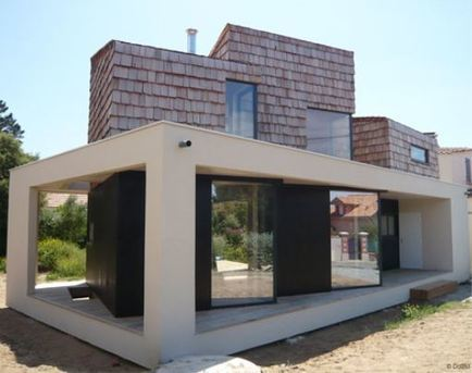 [inspiration] Maison cubique en bois – Architecte Kenenso | Ageka les matériaux pour la construction bois. | Scoop.it