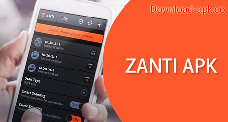 ZANTI ANDROID TÉLÉCHARGER