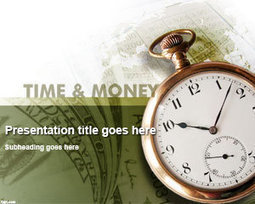 Free Time Money Powerpoint Template Fre