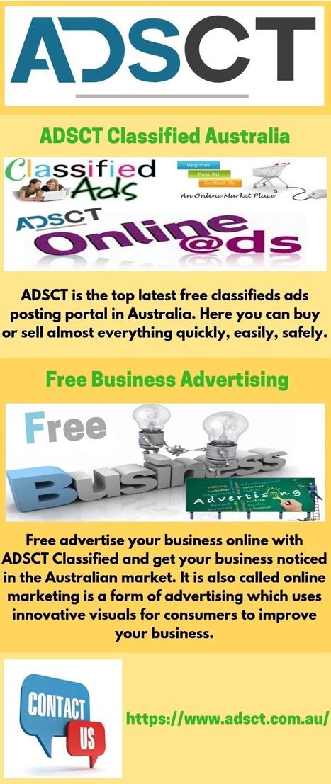 Australian Free Classified Ads Online | ADSCT |