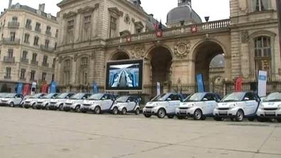 Lyon : lancement de Car2go - TRANSPORTS -AUTO PARTAGE - France 3 Régions - France 3 | France | Scoop.it