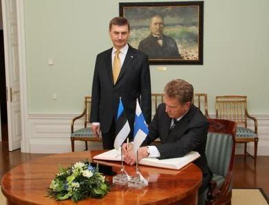 Prime Minister Ansip: Finnish investors helped Estonia get through ... | Finland | Scoop.it