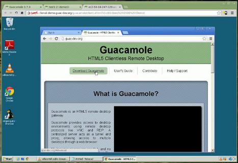 Guacamole | HTML5 Clientless Remote Desktop | Misc technology watch | Scoop.it