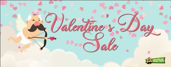 HostPapa Valentine's Day Sale 2020