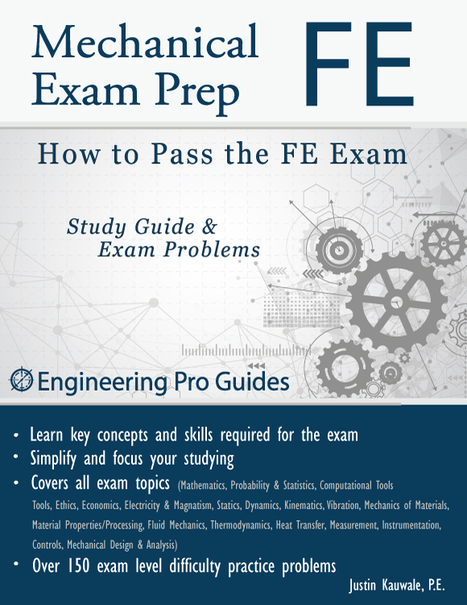 FE Mecianal Exam Guide- Learn How To Pass FE Ex