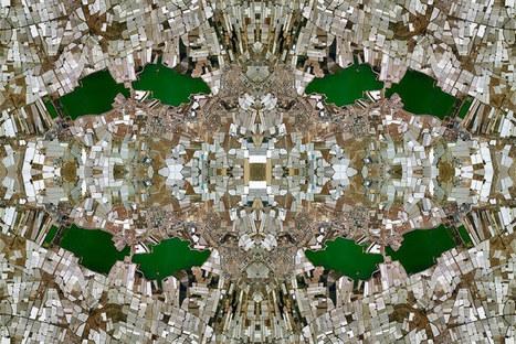 anthropocene: google maps reinterpreted as persian rugs | Art is where you see it | Scoop.it