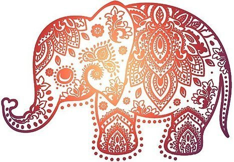 Valentina Harper Ruby The Elephant Tapestry | Elephant tapestry ... | 324x467