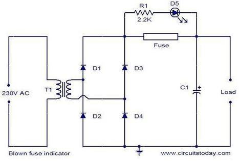 Surprising Blown Fuse Indicator Circuit Electronic Circu Wiring 101 Tzicihahutechinfo