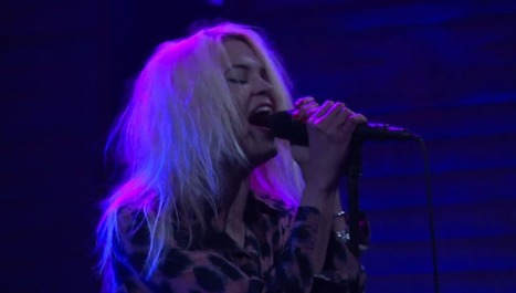 "The Kills perform ""Heart of a Dog"" on Conan — watch 