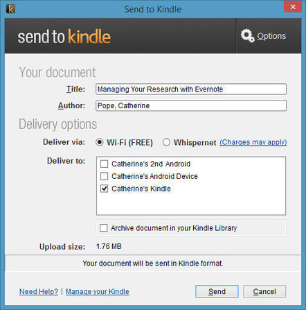 Using your Kindle for reading research material | Productivity Ideas & Tools | Scoop.it