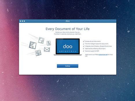 Doo, pour retrouver tous vos documents stockés dans le «cloud» au même endroit | Fredzone | MultiMEDIAS | Scoop.it