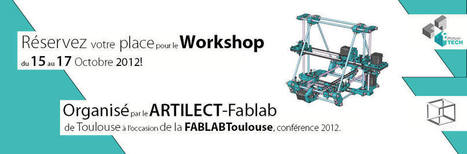 Programmation | FabLab Toulouse Conference 2012 | Gilles FabLab Artilect Toulouse | Scoop.it