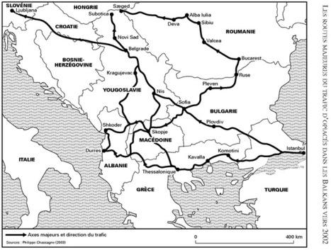 Opiacés et routes des Balkans: facteurs géographiques, historiques et politiques du phénomène (Hérodote) | Géographie des Balkans | Scoop.it