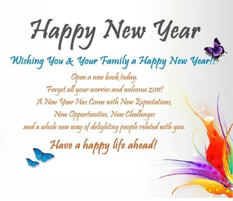 Merry Christmas Happy New Year Wishes Sayings M...