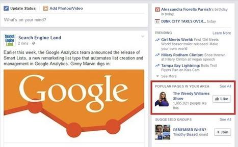 Facebook testing 'Popular Pages in Your Area' feature | Tout sur les réseaux sociaux | Scoop.it