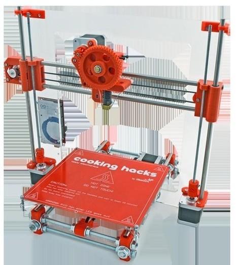 3D Printer Kit From Cooking Hacks   African futures fun   Scoop.it