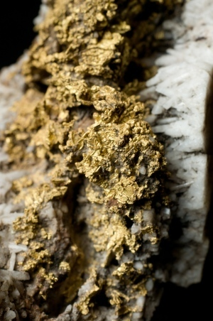 Earthquakes make gold veins -- pressure changes in Earth crust cause precious metals to deposit | Amazing Science | Scoop.it