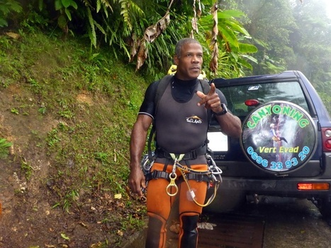 Canyoning avec Max - Exclusive Martinique Mag   Voyage Martinique   Scoop.it