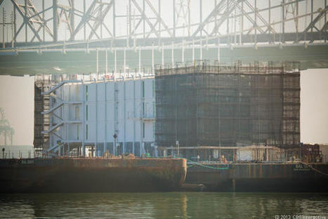 Is Google building a hulking floating data center in SF Bay? | An Eye on New Media | Scoop.it