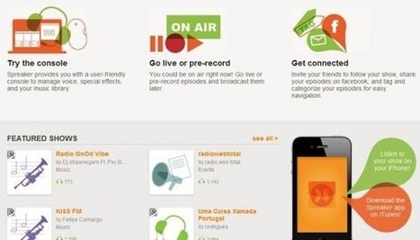 Spreaker nos permite transmitir en directo desde cualquier lugar   Aprendemos compartiendo   Scoop.it